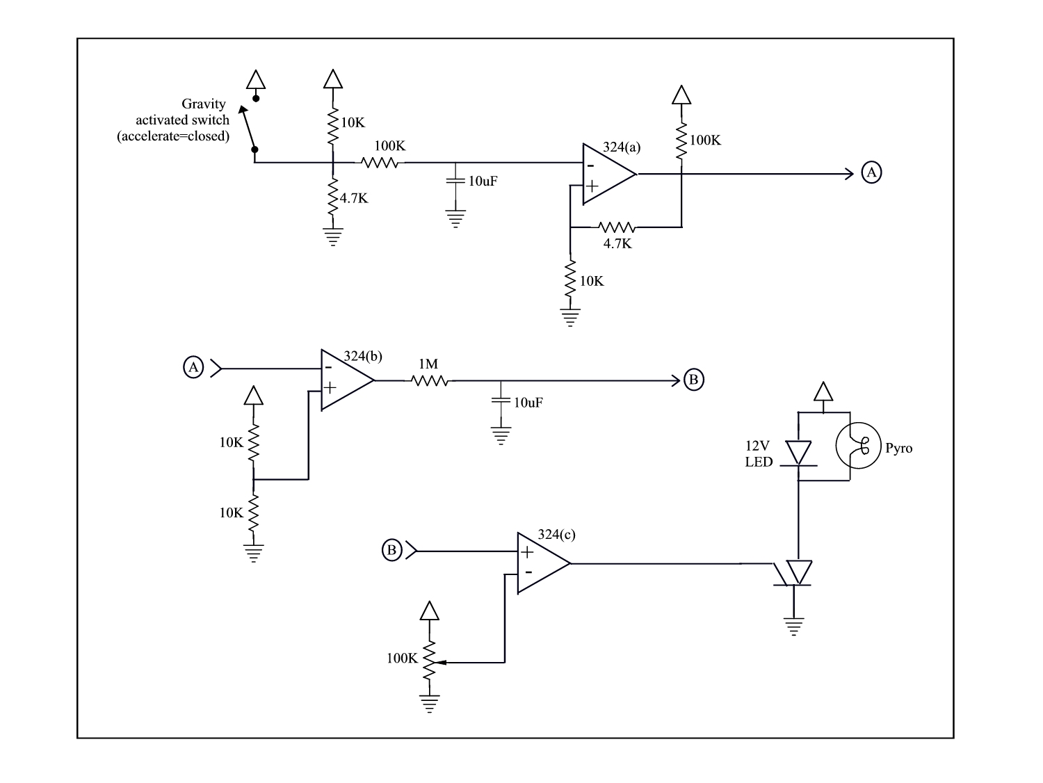 Super Simple Analog Timing Circuit
