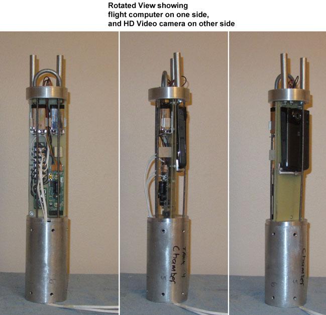 N2O-PVC Hybrid Rocket Motor